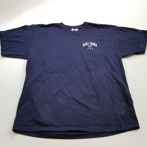 Vintage Nike Town USA Gym Tee Shirt Embroidered